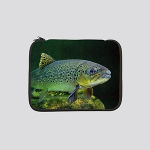 """BROWN TROUT 13"""" Laptop Sleeve"""