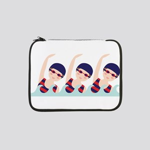 "Synchronized Swimming Girls 13"" Laptop Sleeve"