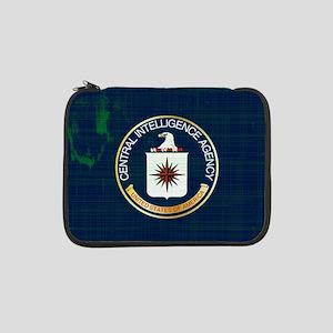 "CIA Flag Grunge 13"" Laptop Sleeve"