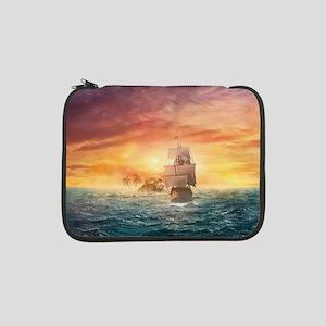 "Pirate ship 13"" Laptop Sleeve"