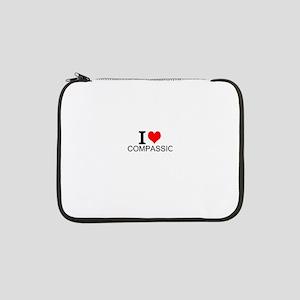 "I Love Compassion 13"" Laptop Sleeve"