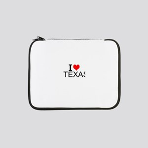 "I Love Texas 13"" Laptop Sleeve"