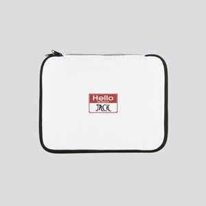 "jack-nightmare-10x10 13"" Laptop Sleeve"