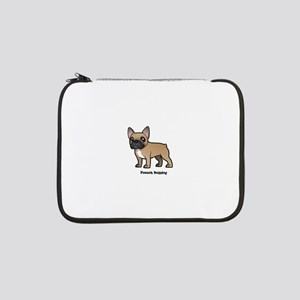 "french bulldog 13"" Laptop Sleeve"