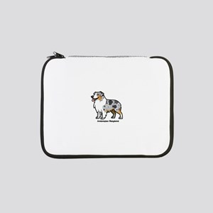 "australian shepherd 13"" Laptop Sleeve"