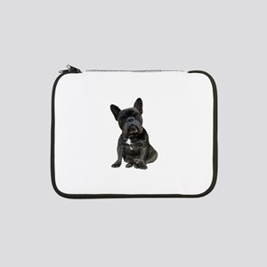 "French Bulldog Puppy Portrait 13"" Laptop Sleeve"