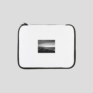 "Black & White Sunset 13"" Laptop Sleeve"
