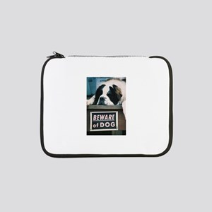 "Beware of Dog 13"" Laptop Sleeve"