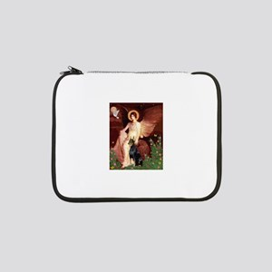 "810-Angel1-Doberman1 13"" Laptop Sleeve"