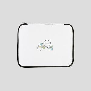 "Aruba Floral Beach Graphic 13"" Laptop Sleeve"