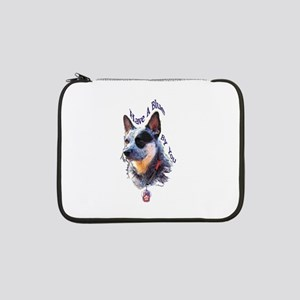 """Blue By You"" 13"" Laptop Sleeve"