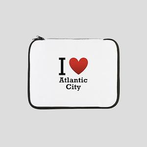"I-Love-Atlantic-City 13"" Laptop Sleeve"