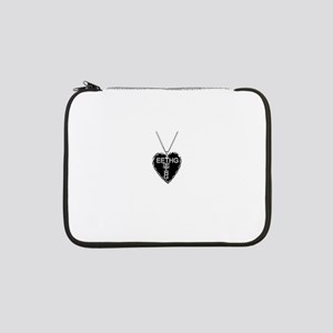 "Black Heart Eethg Corps Inc 13"" Laptop Sleeve"