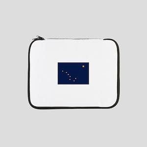 "Flag of Alaska 13"" Laptop Sleeve"