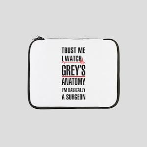"Greys Anatomy trust me black 13"" Laptop Sleeve"
