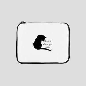 "Home Cat 13"" Laptop Sleeve"