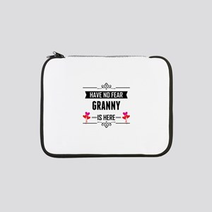 """Have No Fear Granny Is Here 13"""" Laptop Sleeve"""