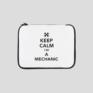 """Keep calm I'm a mechanic 13"""" Laptop Sleeve"""