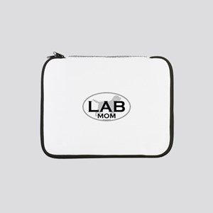 "Labrador Mom II 13"" Laptop Sleeve"