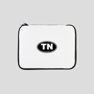 "Tennessee TN Euro Oval 13"" Laptop Sleeve"