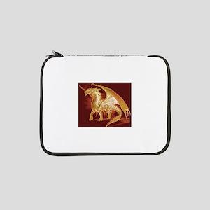 "Gold Dragon 13"" Laptop Sleeve"