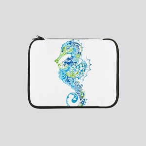 "Fancy Seahorse 13"" Laptop Sleeve"