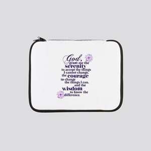 "Serenity Prayer 13"" Laptop Sleeve"