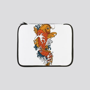 "Fancy Koi 13"" Laptop Sleeve"
