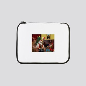 "Santa's Dobie 13"" Laptop Sleeve"