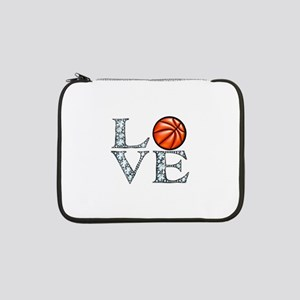 "Love Basketball 13"" Laptop Sleeve"