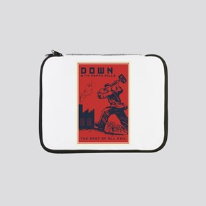 """Down With Puppy Mills 13"""" Laptop Sleeve"""
