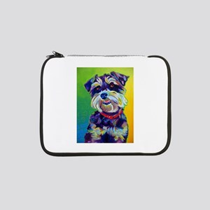 "Miniature Schnauzer #1 13"" Laptop Sleeve"