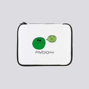 """coccus.png 13"""" Laptop Sleeve"""