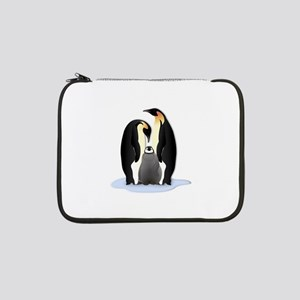 """Penguin Family 13"""" Laptop Sleeve"""