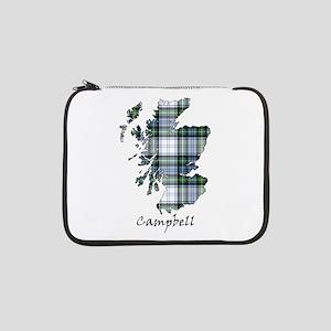 "Map-Campbell dress 13"" Laptop Sleeve"