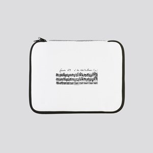 "Bach's Brandenburg 6 Concerto 13"" Laptop Sleeve"