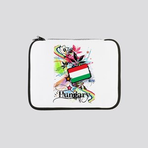 "Flower Hungary 13"" Laptop Sleeve"