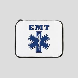 """EMT Blue Star Of Life* 13"""" Laptop Sleeve"""