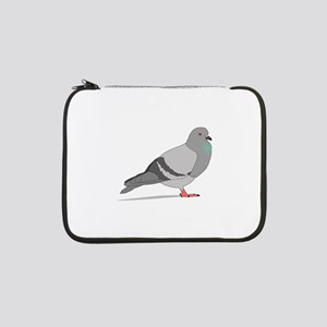 "Cartoon Pigeon 13"" Laptop Sleeve"