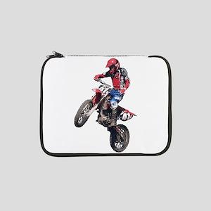 "Red Dirt Bike 13"" Laptop Sleeve"