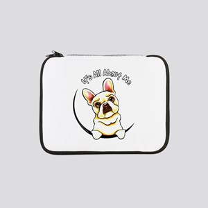 "Fawn Frenchie IAAM 13"" Laptop Sleeve"