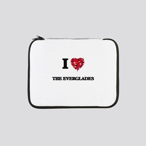 "I love The Everglades 13"" Laptop Sleeve"