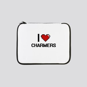 "I love Charmers Digitial Design 13"" Laptop Sleeve"