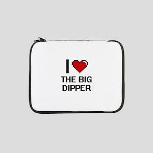 """I love The Big Dipper digital de 13"""" Laptop Sleeve"""