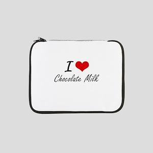 "I love Chocolate Milk 13"" Laptop Sleeve"