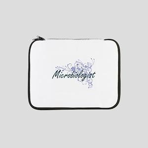 "Microbiologist Artistic Job Desi 13"" Laptop Sleeve"