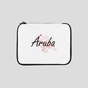 """Aruba Artistic Design with Butte 13"""" Laptop Sleeve"""