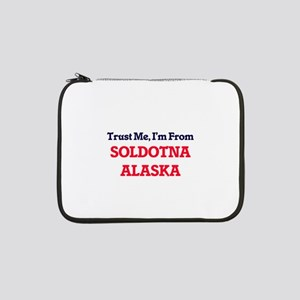 "Trust Me, I'm from Soldotna Alas 13"" Laptop Sleeve"
