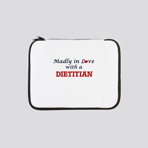 """Madly in love with a Dietitian 13"""" Laptop Sleeve"""