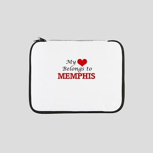 "My heart belongs to Memphis 13"" Laptop Sleeve"